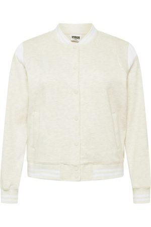 Urban Classics Curvy Overgangsjakke 'Ladies Inset College Sweat Jacket