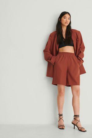 NA-KD Dame Shorts - Resirkulert Shorts Med Elastisk Midje