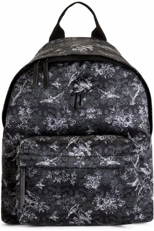 Giuseppe Zanotti Herre Ryggsekker - Bud floral-print backpack and. floral-print fabric Metal Signature Zip fastening at the top