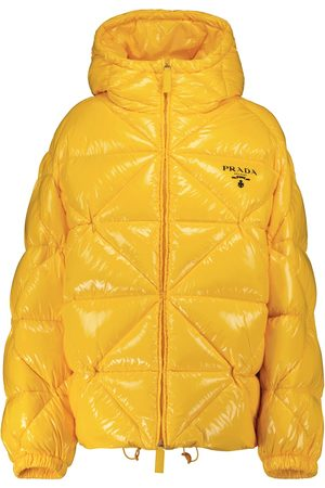 Prada Re-Nylon gabardine down jacket