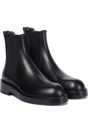 ANN DEMEULEMEESTER Dame Skoletter - Stef leather Chelsea boots
