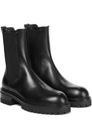 ANN DEMEULEMEESTER Dame Skoletter - Wally leather Chelsea boots