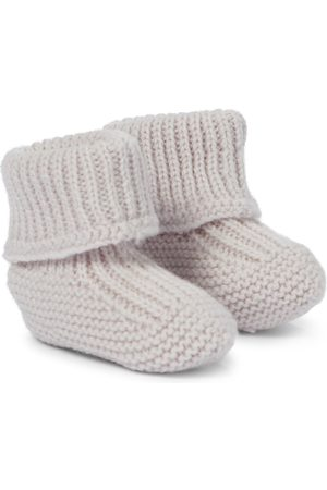 Il gufo Baby wool booties