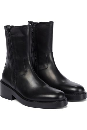 ANN DEMEULEMEESTER Dame Skoletter - Maddy leather ankle boots