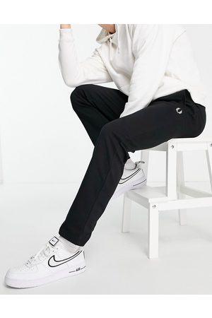 Fred Perry Reverse tricot joggers in black