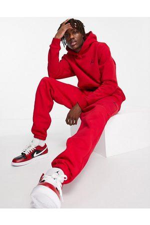 Jordan Nike fleece jogger in red