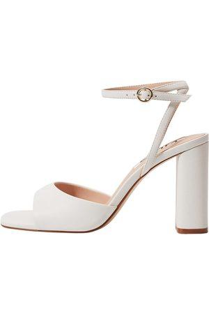 MANGO Dame Høyhælte sandaler - Sandaler
