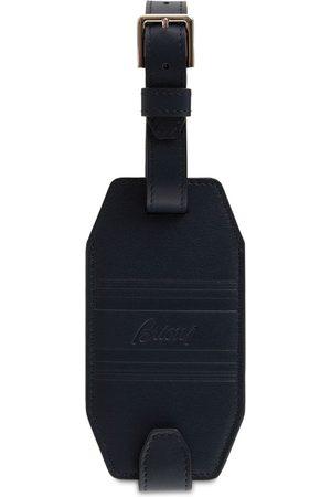 BRIONI Herre Kofferter - Logo Leather Luggage Tag