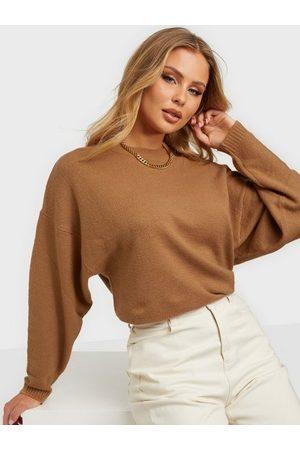 NLY Dame Strikkegensere - Sleeve Focus Knit