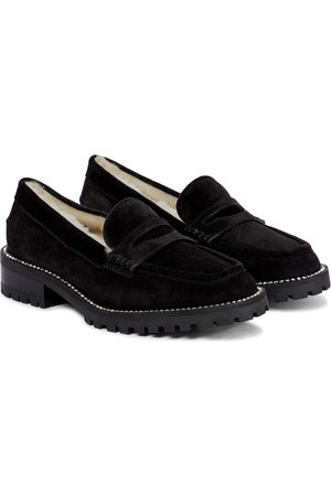 Jimmy Choo Dame Loafers - Deanna suede loafers