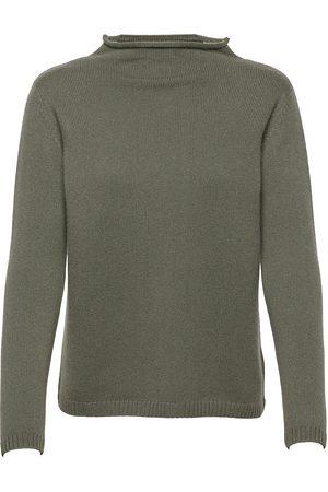 Davida Cashmere Funnel Roll Neck Sweater Strikket Genser