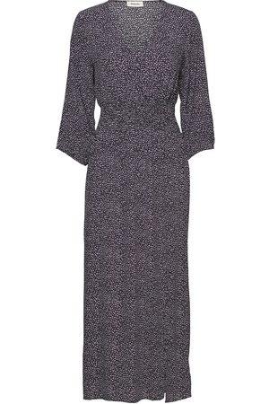 Modstrom Lolly Print Dress Dresses Everyday Dresses Blå