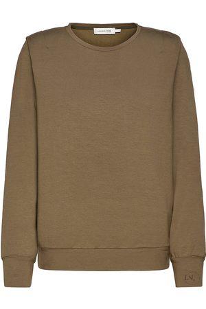 Lounge Nine Lnkira Shoulderpad Sweatshirt Strikket Genser Brun