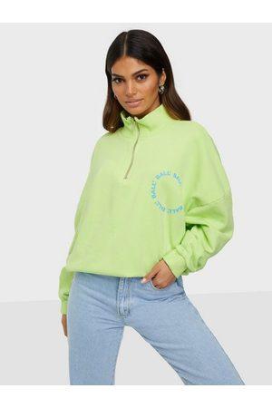 BALL Dame Sweatshirts - Circle Half Zip Green