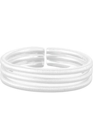 PapayaOslo Dame Ringer - X Satin Stripe Ring
