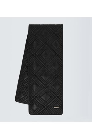 Saint Laurent Quilted puffer scarf