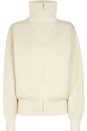 Isabel Marant Axelle ribbed-knit zipped sweater