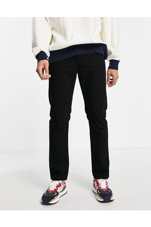 Topman Straight jeans in stay black