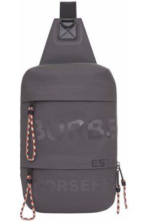 Burberry Herre Ryggsekker - Horseferry print coated canvas backpack