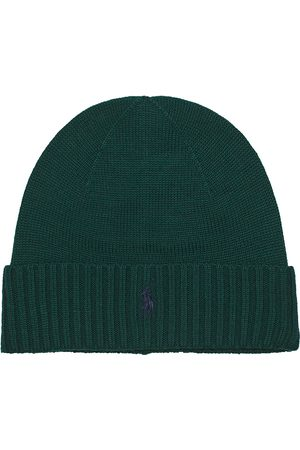 Polo Ralph Lauren Merino Wool Beanie College Green