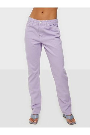 NLY Dame Straight - Low Waist Fit Denim