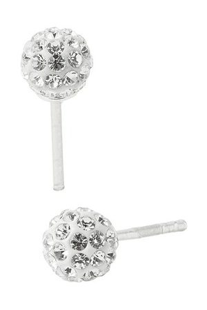 Accessorize Crystal Ball Studs