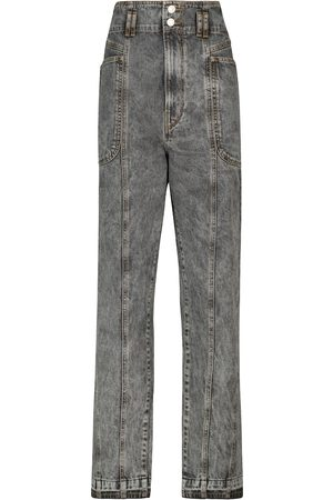 Isabel Marant Tess high-rise straight jeans