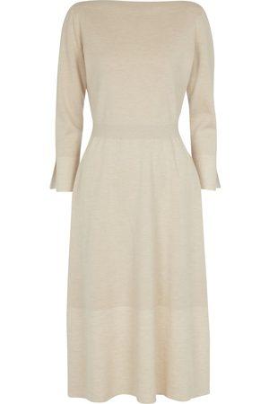 Loro Piana Scala cashmere and silk sweater dress
