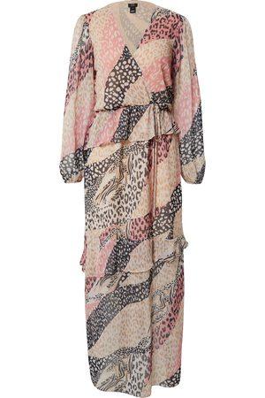 River Island Dame Maxikjoler - Sommerkjoler 'Ls Animal Maxi Day Dress