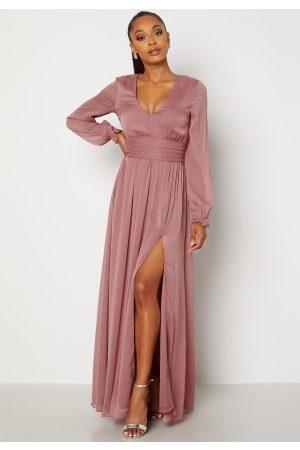 BUBBLEROOM Delilah prom dress Dark old rose 42