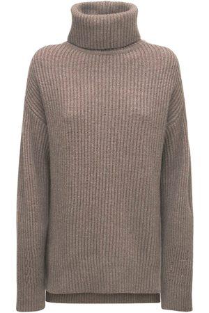 CREM38 Teseo Wool & Cashmere Knit Sweater