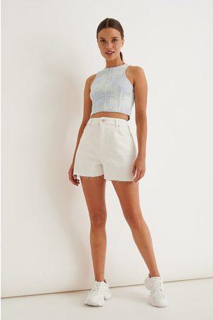 NA-KD Dame Shorts - Denimshorts