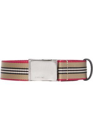 Burberry Icon Stripe webbed belt