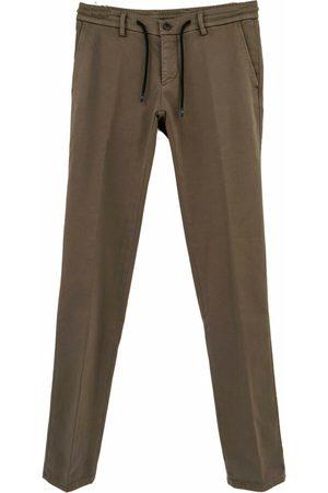 Masons Milano jogger pantalon taupe 9pf2a5821-mbe071-873