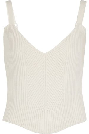 MAGDA BUTRYM Ribbed-knit cashmere camisole