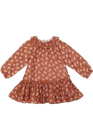 Molo Baby Corinne cotton-blend dress