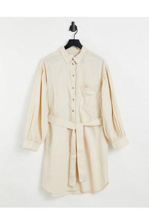 SELECTED Dame Hverdagskjoler - Cecile shirt dress in cream-White