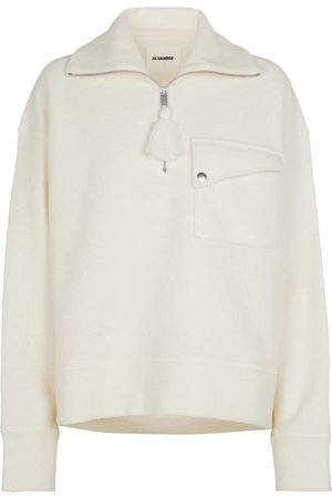 Jil Sander + Wool-blend sweatshirt
