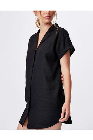 Cotton:On Shirt dress in black