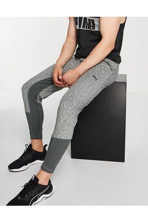 PUMA Yoga Studio Yogini joggers in grey heather