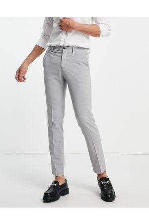 JACK & JONES Premium skinny fit suit trousers in grey