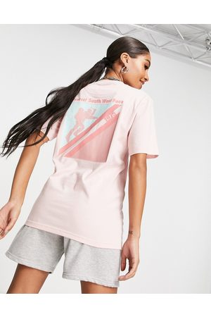 Berghaus Everest Face Expedition t-shirt in pink