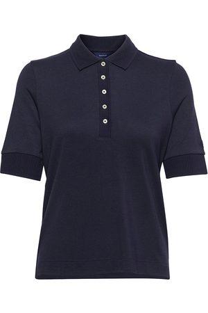GANT D1. Detail Collar Ss Polo Pique T-shirts & Tops Polos