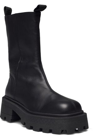 Bianco Biadessie Zip Boot Shoes Boots Ankle Boots Ankle Boot - Flat