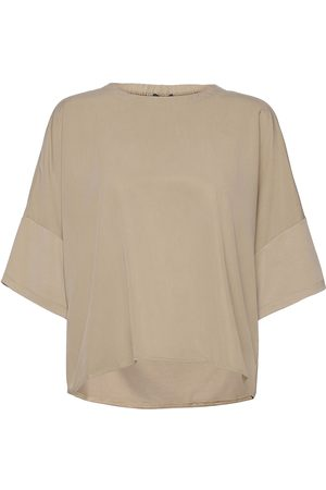 French Connection Renya Modal Jersey Mix Med Top Bluse Langermet