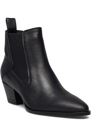 Calvin Klein Dame Skoletter - Cowboy Mid Boot Shoes Boots Ankle Boots Ankle Boot - Heel