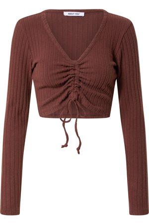 ABOUT YOU Dame Skjorter - Skjorte 'Maxi Longsleeve