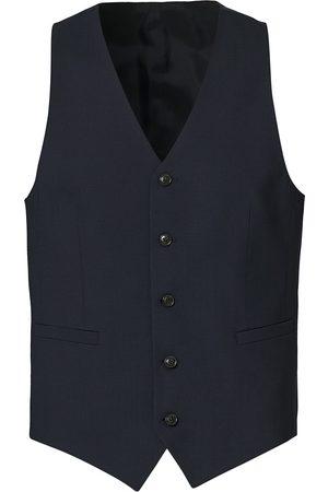 Tiger of Sweden Herre Dressvester - Litt Wool Waistcoat Blue