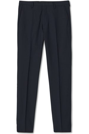 Tiger of Sweden Herre Chinos - Thodd Wool Suit Trousers Blue