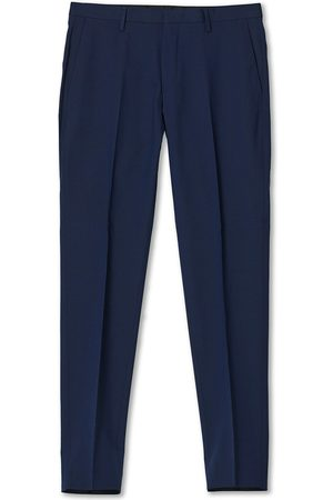 Tiger of Sweden Herre Chinos - Thodd Wool Suit Trousers Navy